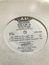 Willie D Rap A Lot Records Still Black/ Rodney K Vinyl Mint