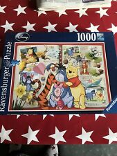 Winnie The Pooh And Friends Ravensburger Jigsaw 1000 Piece Disney Please Read
