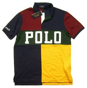 Polo Ralph Lauren Big & Tall Men's Multi Colorblock Interlock Polo Shirt