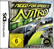 NINTENDO DS 3DS NEED FOR SPEED NITRO * DEUTSCH Sehr guter Zustand