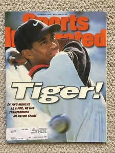 Tiger Woods Sports Illustrated October 28, 1996 Rookie Debut Issue GOAT