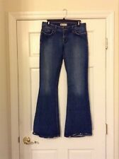 BKE Buckle STAR 20 STRETCH Jeans Size 29 X 33 1/2 Distressed Denim