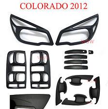Matte Black Head Tail Light Door Handle Cover Holden Colorado RG Z71 LTZ 12 - 15