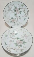 "Four (4) Noritake CHATHAM 8.25"" Salad Plates Fine China Japan 5502 Lk-Nw      i2"