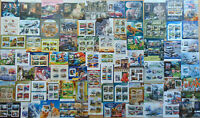 500 different MINI & SOUV. SHEETS Composition Lot NEW ARRIVAL 2019 OFFER!!!