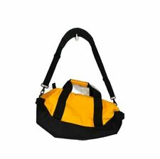 LL Bean small Adventure Duffle yellow carry on  Bag