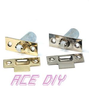 Adjustable Door Roller Catch Mortice Lock   Spring Loaded Ball Latch Locks