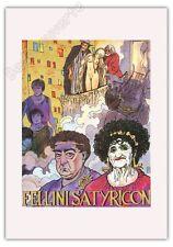 Affiche Offset MANARA Fellini Satyricon Cinema 35x50
