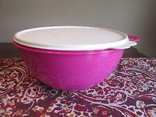 Tupperware MEDIUM  Thatsa Bowl PINK 4.5 L 19 cups Fuchsia KIss