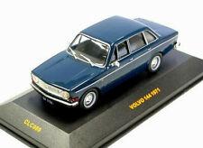 wonderful IXO-modelcar VOLVO 144  AUTOMATIC 1971 - darkblue - 1/43 - lim.ed.