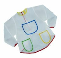 Art Smock Painting Apron Waterproof Long Sleeve Art Class Crafts for Children