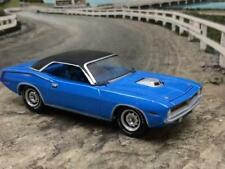 1970 70 PLYMOUTH BARRACUDA CUDA 426 HEMI V8 MOPAR 1/64 SCALE LIMITED EDITION B12