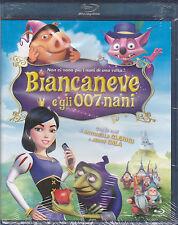 Blu-ray **BIANCANEVE E GLI 007 NANI** nuovo 2009