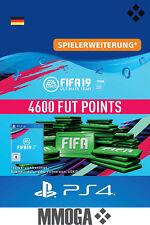 PS4 - FIFA 19 Ultimate Team - 4600 FUT Points Key Playstation 4 Code Nur für DE