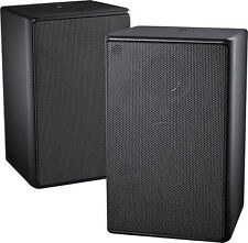 Open-Box Excellent: Insignia- 2-Way Indoor/Outdoor Speakers (Pair) - Black