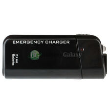 USB Emergency Portable 2AA Battery Charger for Apple iPhone 8 8+ X XS XR XS MAX