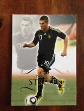 2011 Unique Futera Soccer Card - Germany PODOLSKI Mint