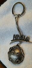 Vintage First Man on the Moon 1969 Neil Armstrong keychain keyring