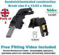 INDESIT IWDD 7123 (UK) IWDD 7143 S (UK) Washing Machine Motor Carbon Brushes