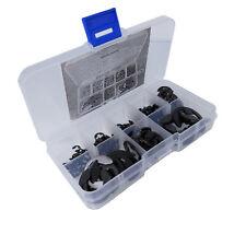 Us Stock 200x E-Clip Snap Ring Assortment Kit 3mm 4mm 5mm 6mm 8mm 9mm 12mm 15mm