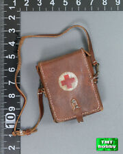 1:6 Scale DID WWII German Medic Peter D80100 - Leather Medic Bag