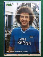 (RT97) DIRCEU NAPOLI Poster 80x55 da Guerin Sportivo n.31/1983 Calcio