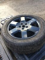 RANGE ROVER SPORT OR DISCOVERY 255/50ZR SPARE WHEEL WITH BRAND NEW PIRELLI TYRE