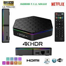 Smart Q5 TV BOX Android 4K ultra HD 4 GB 64g smart tv wifi telecomando andowl Q5