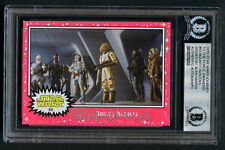 Alan Harris signed autograph auto 2015 Star Wars The Force Awakens Card BAS Slab