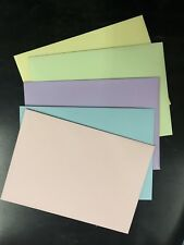 20 x C5 Baby Pink Envelopes PASTELPink Large Fits 1/2 of A4 (162x229mm) 130GSM