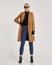 New masculine wool coat Zara camel