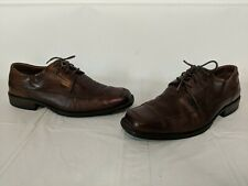 Men's Johnston Murphy Soft Sheepskin Leather Brown Dress Casual Shoes- Size 13 M