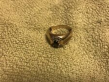 Mens Tiger Eye Diamond Ring Very Attractive Piece Size 9 New Original Must See!