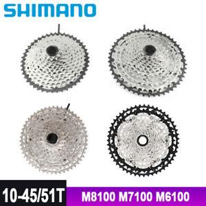 Shimano XT CS M8100 SLX M7100 DEORE M6100 Cassette 10-51T 10-45T 12 Speed MTB