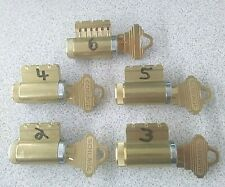 Practice Locksmith Cylinders With 6 Pin Cutaway Schlage Keyway Free Shipping
