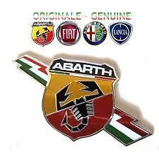 stemma logo FREGIO ABARTH LATERALE FIAT 500 CINQUECENTO GRANDE PUNTO ORIGINALE