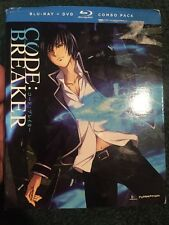 Code:Breaker Complete Series Ep, 1-13 (4-Disc) Anime DVD+Blu-ray R1