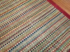 Vintage RAINBOW Turkish Oushak Ushak Konya Deco Rug Size 11'6''x15'2''