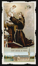 santino cromo-holy card S.LEGA -S.ANTONIO DA PADOVA in NEUVES-MAISONS