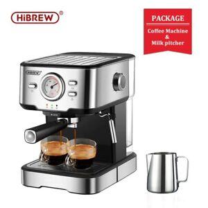 COFFEE ESPRESSO MACHINE MAKER 20 BAR CAPPUCCINO AUTOMATIC MILK PORTABLE MANUAL