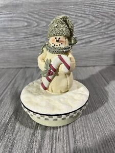 Yankee Candle Snowman Topper Frosty the Snowman Xmas Christmas