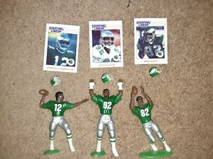 1988 Philadelphia Eagles Kenner Starting Lineup Lot White Cunningham Quick Loose