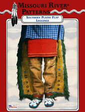 Missouri River Native American Southern Plains Flap Leggings Sewing Pattern