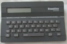 Franklin Computer Spelling Ace Sa-98 Handheld Dictionary/Thesaurus Linguistic