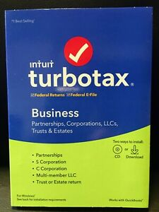 2019 Intuit TurboTax Business