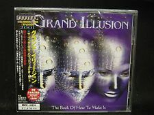 GRAND ILLUSION The Book Of How To Make It + 1 JAPAN CD C.O.P Decoy Eclipse