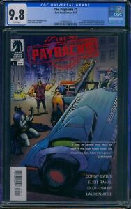 Paybacks 1 (Dark Horse) CGC 9.8 White Pages Donny Cates story