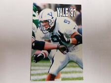 Yale University Bulldogs 1997 College Football Pocket Schedule - Starter