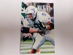 Yale University Bulldogs 1997 College Football Pocket Schedule - Starter