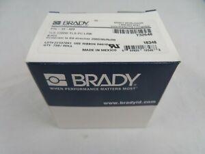 Brady Ptl-13-423 Label, White, Labels/Roll: 750